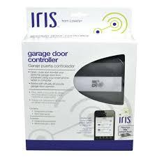 open garage door with cell phone choice image door design for home