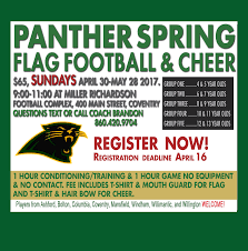 bow street flyers panther 2017 flag football cheer flyer panther youth football cheer