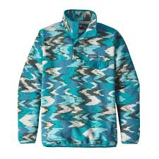 Patagonia Patterns Cool Patagonia Women's Lightweight Synchilla SnapT Pullover