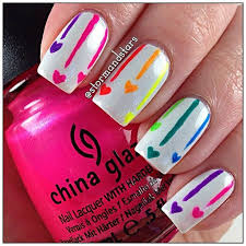 Nail Art Designs Wwwfinditforweddingscom Neon Nails Nehty