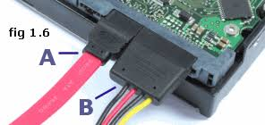 how to install a hard drive ide and sata drives Coil Wiring Diagram at Hard Drive Power Wiring Diagram Ide