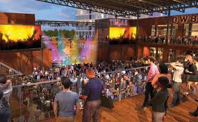 Arlington Backyard Seating Chart Texas Live Entertainment Complex On Pace To Open In