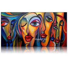 <b>100</b>% <b>Hand painted</b> Textur oil painting abstract Canvas painting ...