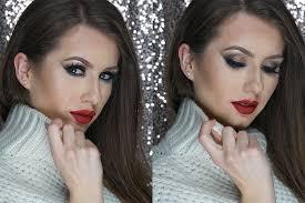 holiday makeup look 1