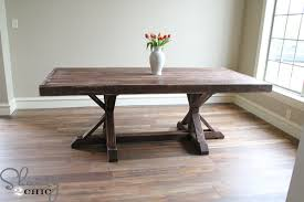 diy rustic dining room tables. Charming DIY Rustic Dining Room Table With Homemade Plans Free Diy Tables Centralazdining