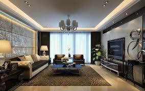 modern living room wall decor ideas led