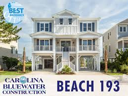 beach home 193 is a 3 196 sq ft home located on sunset beach nc it features 5 bed 5 bath reverse floor plan elevator swimming pool and a rec room