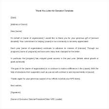 Sample Donation Letters Donation Letter Template For Schools