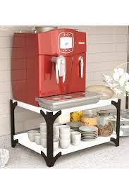 codmodist Tezgah Üstü Çay Kahve Makinesi Bardak Düzenleyici Stand Organizer  Raf. Fiyatı, Yorumları - TRENDYOL
