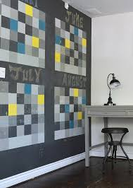 fun ideas for the office. View In Gallery Chalkboard Wall Shapes A Dynamic And Fun Calendar The Home Office [From: Sarah Ideas For S