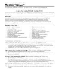 resume format for quality assurance resume examples  resume format for quality assurance