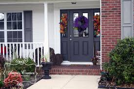 How to Take Your Fall Front Porch from Halloween to Thanksgiving ...