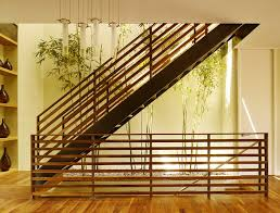Inspiration for a contemporary straight open staircase remodel in San  Francisco