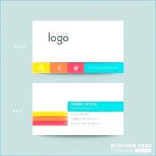 Plain Business Card Template Microsoft Word Mac Blank