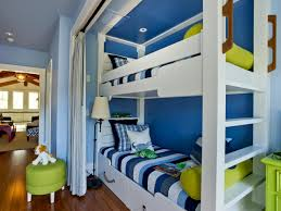 Nautical Inspired Bedrooms Bunk Bed Niche With Happy Beach Inspired Color Palette