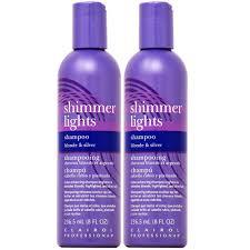 Does Walmart Sell Shimmer Lights Shampoo Clairol Shimmer Lights Shampoo 8oz Pack Of 2 Walmart Com