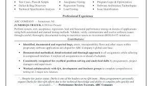Qa Tester Resume Samples Tester Entry Level Tester Resume Sample