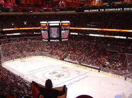 flyers arena seating chart a guide to the wells fargo center cbs philly