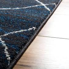 blue moroccan rug royal modern well woven blue moroccan rug