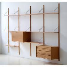 Modular Wall Storage Royal Systemar Shelf Skandium
