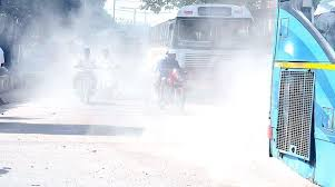 Air pollution in bad condition in Hyderabad