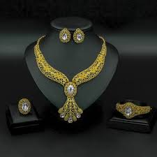 Online Shop <b>Liffly</b> Fashion Bridal <b>Jewelry</b> Set <b>Women</b> Gifts <b>Dubai</b> ...