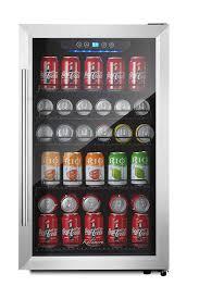 kalamera 150 can beverage refrigerator stainless steel