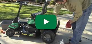 weed eater lawn tractor. weed eater video library lawn tractor