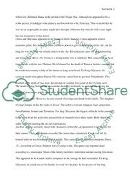 similarities between odysseus and creon research paper similarities between odysseus and creon essay example