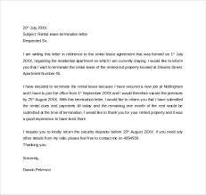 Rental Lease Termination Letter1