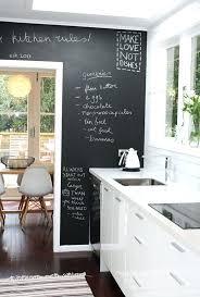Chalkboards In Kitchens