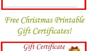 Custom Gift Certificate Templates Free Custom Gift Certificate Template A Personalized Certificates