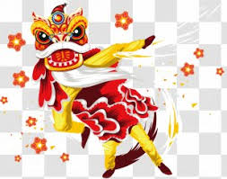 Find & download free graphic resources for barongsai. Dragon Dance Lion Chinese New Year Clip Art Text Month Transparent Png