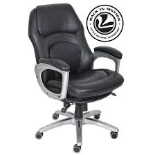 chair serta chairs at home back in motion health and wellness executive p office chair black