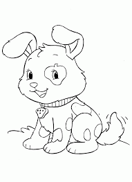 Small Picture Dog And Puppy Coloring Pages Coloring Pages