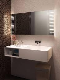 Demister Bathroom Mirrors Platinum Range 16007 Led Bathroom Mirror Cabinets Light Mirrors