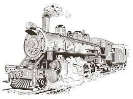 Oude Trein Vectoren Illustraties En Clipart 123rf