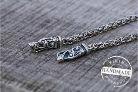 pair of wolf tips for chain 925 silver wolf tips chain doesn t