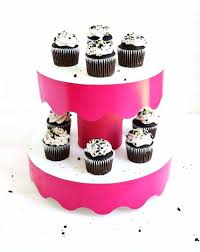 diy chandelier cupcake stand elegant tiered cake stand ideas for the holidays cardboard tiered cake stand