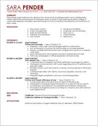 Free Resume Templates Legal Assistant Resume Resume Examples