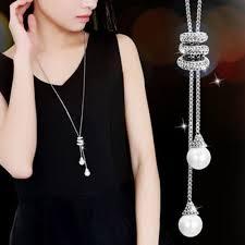Fancyleo - Fancyleo <b>2 Pcs Fashion</b> Ladies Charm Crystal Pearls ...