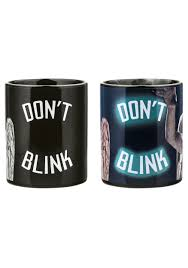 Heat Activated Paint Doctor Who Weeping Angel Heat Reveal Mug