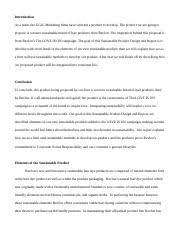 marketing essay wk one gabriel turner green marketing paper 2 pages