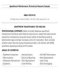 Mechanic Resume Interesting Maintenance Mechanic Resume Sample Maintenance Technician Resume