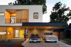 Superb Modernes Carport Modern Haus U0026 Fassade With Front Yard By MF Architecture  At Austin Carport Tent