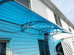 new style diy door canopy diy window canopy engineering plastic frame polycarbonate door awning from welmay1688 286 44 dhgate com