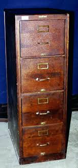 locking wooden file cabinet