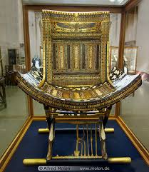 point furniture egypt x: here is a good example of what an actual ancient egyptian throne from around that time period looked like