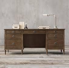 office desk hardware. Restoration Hardware Home Office Furniture Desk Maison 76 Designs