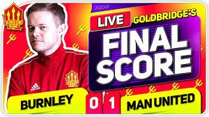 GOLDBRIDGE! Burnley 0-1 Manchester United Match Reaction - YouTube